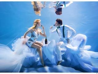 Подводная фотосъёмка - студия Аш2Ноль